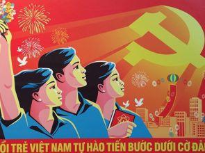 Dân vũ: Thanh niên Việt Nam tiến bước